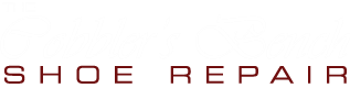 The Cobbler's Bench shoe repair logo